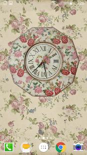 Shabby Chic Clocks Live Wallpaper v4.0.1 screenshots 2