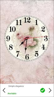 Shabby Chic Clocks Live Wallpaper v4.0.1 screenshots 3
