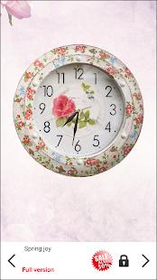 Shabby Chic Clocks Live Wallpaper v4.0.1 screenshots 4