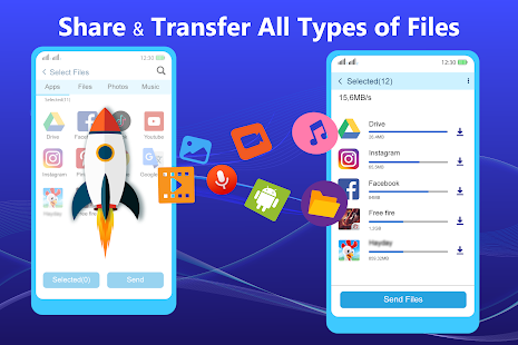 Share – File Transfer amp Connect v202199.9 screenshots 1