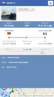 Ship Tracker – AIS Marine Radar amp Vessel Tracker v1.1.7 screenshots 4