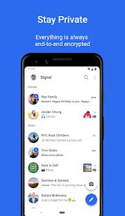 Signal Private Messenger v5.16.3 screenshots 1