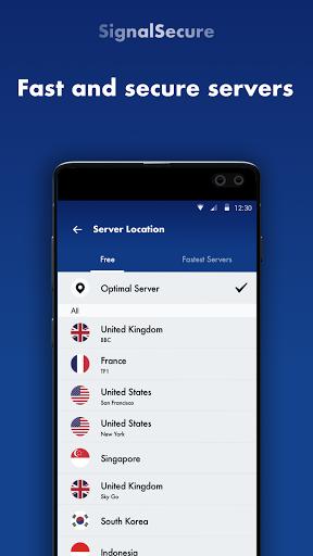 Signal Secure VPN -Fast VPN Proxy amp VPN Robot v2.3.8.1 screenshots 2