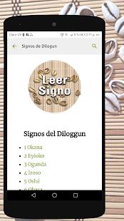 Signos del Diloggun v2.2 screenshots 1