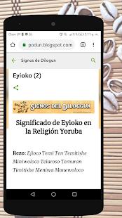 Signos del Diloggun v2.2 screenshots 2