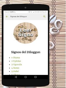 Signos del Diloggun v2.2 screenshots 5