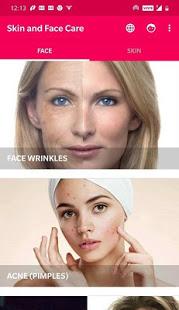Skin and Face Care – acne fairness wrinkles v2.2.0 screenshots 1