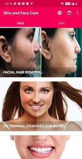 Skin and Face Care – acne fairness wrinkles v2.2.0 screenshots 2