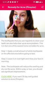 Skin and Face Care – acne fairness wrinkles v2.2.0 screenshots 6