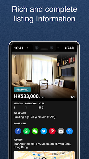 Spacious Real Estate Properties for Rent amp Sale v6.8.8 screenshots 2