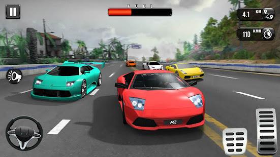 Speed Car Race 3D New Car Games 2021 v1.4 screenshots 10