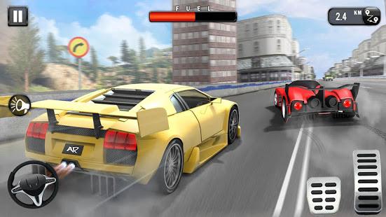 Speed Car Race 3D New Car Games 2021 v1.4 screenshots 14