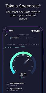 Speedtest by Ookla v4.6.1 screenshots 1