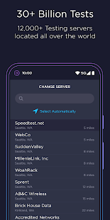 Speedtest by Ookla v4.6.1 screenshots 6