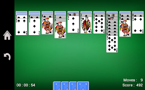Spider Solitaire v1.21 screenshots 5
