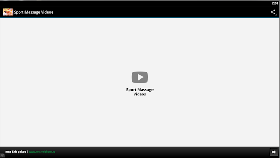 Sport Massage Videos v screenshots 1