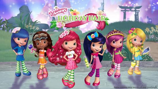 Strawberry Shortcake Holiday Hair v1.6 screenshots 1