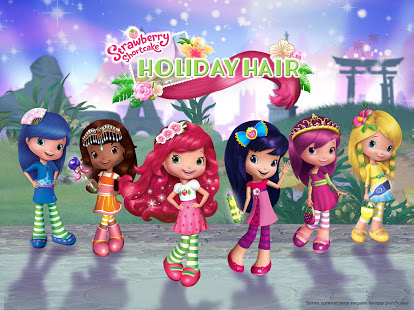 Strawberry Shortcake Holiday Hair v1.6 screenshots 11