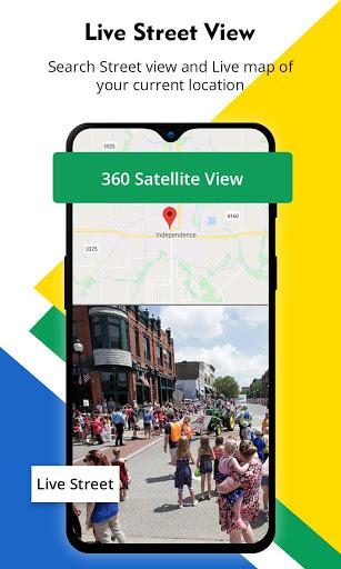 Street View – Live Earth Map GPS Navigation v2.7 screenshots 2