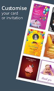 Stylish Invites Easy Invitation Card Maker v screenshots 10