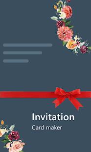 Stylish Invites Easy Invitation Card Maker v screenshots 11