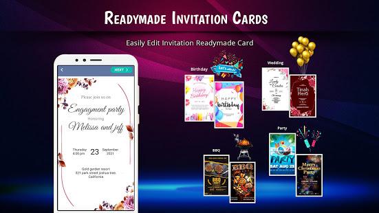 Stylish Invites Easy Invitation Card Maker v screenshots 3