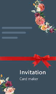 Stylish Invites Easy Invitation Card Maker v screenshots 6