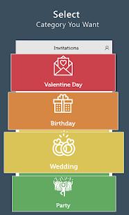 Stylish Invites Easy Invitation Card Maker v screenshots 7