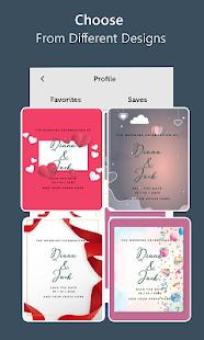 Stylish Invites Easy Invitation Card Maker v screenshots 8