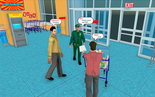 Supermarket Grocery Shopping Mall Family Game v1.8 screenshots 13