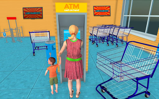 Supermarket Grocery Shopping Mall Family Game v1.8 screenshots 2