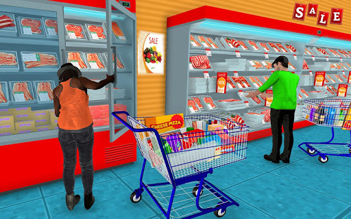 Supermarket Grocery Shopping Mall Family Game v1.8 screenshots 4