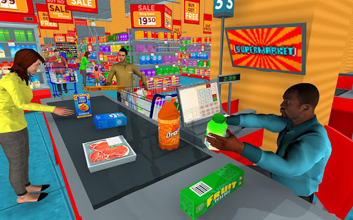 Supermarket Grocery Shopping Mall Family Game v1.8 screenshots 5