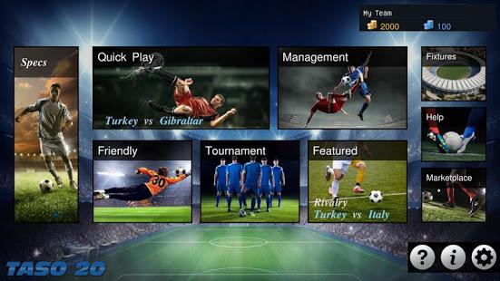 TASO 3D – Football Game 2020 v20.3.0.1 screenshots 3