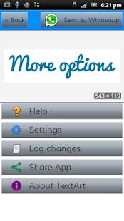 TextArt Cool Text creator v1.2.3 screenshots 7