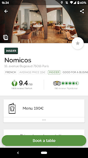 TheFork – Restaurants booking and special offers v20.0.1 screenshots 1