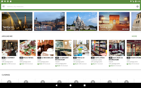 TheFork – Restaurants booking and special offers v20.0.1 screenshots 11
