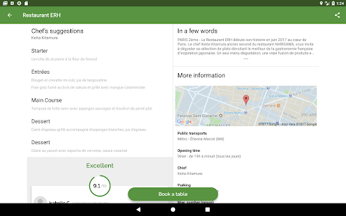 TheFork – Restaurants booking and special offers v20.0.1 screenshots 14