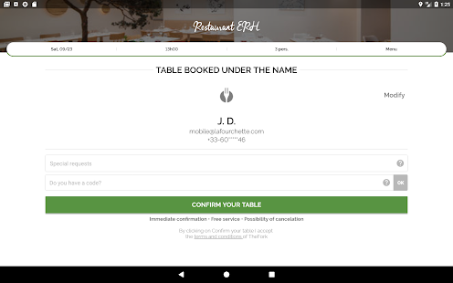 TheFork – Restaurants booking and special offers v20.0.1 screenshots 15