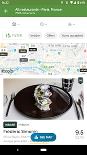 TheFork – Restaurants booking and special offers v20.0.1 screenshots 2