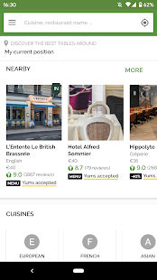 TheFork – Restaurants booking and special offers v20.0.1 screenshots 4