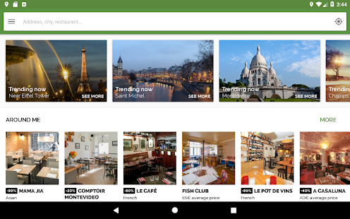 TheFork – Restaurants booking and special offers v20.0.1 screenshots 6