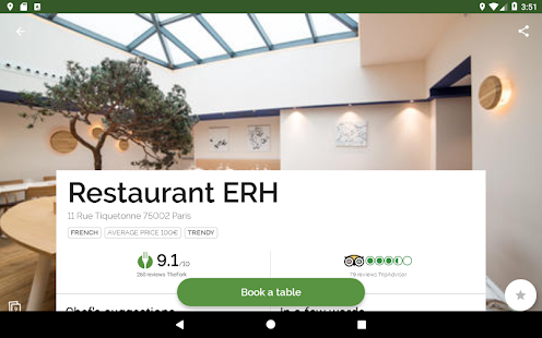 TheFork – Restaurants booking and special offers v20.0.1 screenshots 8