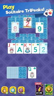 Theme Solitaire Offline Tripeaks Card Games v1.3.9 screenshots 19