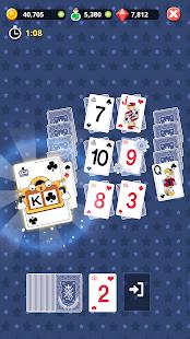 Theme Solitaire Offline Tripeaks Card Games v1.3.9 screenshots 7