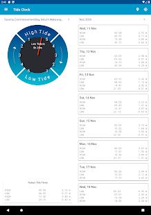 Tide Clock Free v4.8 screenshots 17