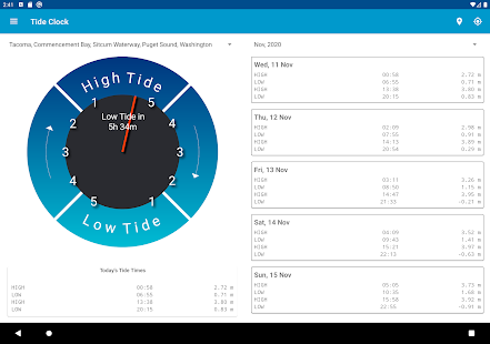 Tide Clock Free v4.8 screenshots 19
