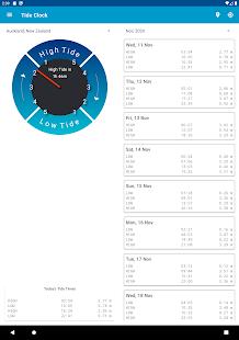 Tide Clock Free v4.8 screenshots 9