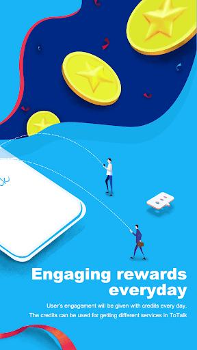 ToTalk Secure and Free Calls amp Easy Load v2.20.9 screenshots 2