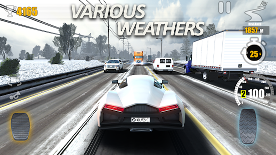 Traffic Tour- Traffic Rider amp Car Racer game v1.6.3 screenshots 5